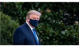 Koronavirüse yakalanan Trump'tan ilk açıklama