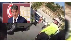 MHP'li vekilin şoförü, ABB görevlisine çarptı