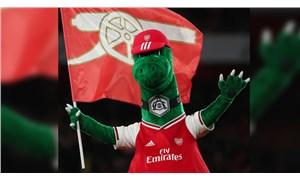 Arsenal 27 yıllık maskotu Gunnersaurus'ın görevine son verdi