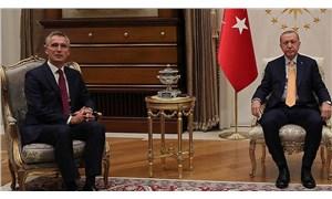 Erdoğan, NATO Genel Sekreteri Stoltenberg'le görüştü