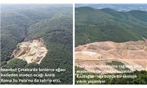 Maden sahaları denetlenmiyor, ormanlar korunmuyor