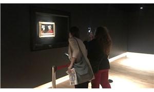 Fatih Sultan Mehmet tablosu ziyarete açıldı