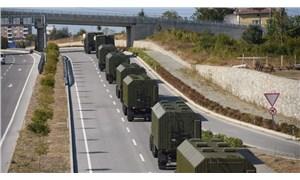 S-400'ler test için Sinop'a götürüldü