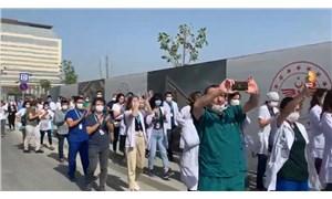 Sağlık emekçileri eylemlerinin ikinci gününde: Aylardır doğru düzgün ödeme alamıyoruz!