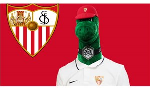 Sevilla, Arsenal'in görevine son verdiği maskot Gunnersaurus'ıtransfer etti