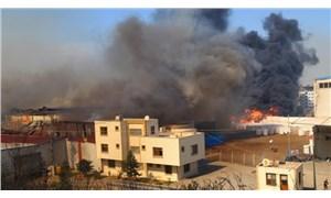 """CHP, Hatay'daki yangında zarar gören alanları inceledi: """"Birileri sabotaj peşinde"""""""