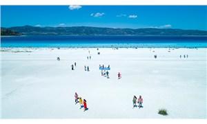 Salda Gölü çevresine bisiklet yolu yapılacak