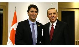 Erdoğan, Kanada Başbakanı Justin Trudeau ile telefonda görüştü