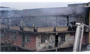 İzmir Karabağlar'da yangın: 4 kişi dumandan etkilendi