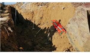 Cezaevi inşaatında göçük: 1 işçi hayatını kaybetti