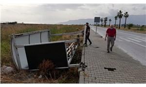 Antalya'da fırtına can aldı