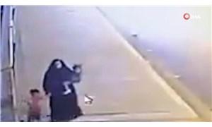 Bağdat'ta iki çocuğunu Dicle Nehri'ne atan kadının görüntüleri infial yarattı