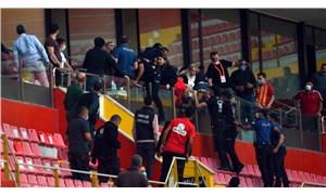 Kayserispor: Başkan Berna Gözbaşı'nın ailesinin bulunduğu locaya saldırı gerçekleşti
