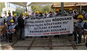 Maden işçileri kararlı: Sonuç alınmadan Soma'ya dönülmeyecek