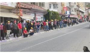 Madencilere yine polis ablukası: Korkmuyoruz, buradayız!