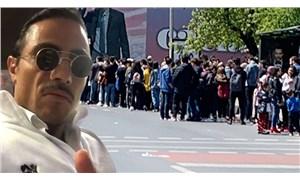 İddia: Nusret'in önündeki kuyrukta bekleyenler figüran