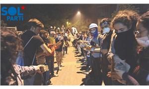 SOL Parti'den AKP'ye yanıt: Bizler gençliğiz, bu karanlık düzeni biz değiştireceğiz