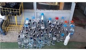 Hatay'da 3 bin 230 litre sahte içki ele geçirildi