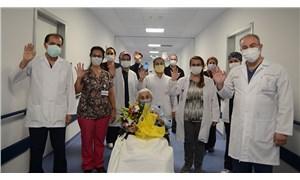 94 yaşında koronavirüsü yendi: Sanki yeniden doğmuş gibiyim