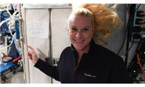 ABD'li astronot Kate Rubins, uzaydan oy kullandı