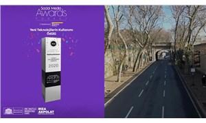 'Akıldan Çıkmaz Yol' projesiyle Beşiktaş Belediyesi'ne bir ödül daha
