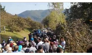 Ordu'da madenlere karşı çıkanlara biber gazlı müdahale: 6 kişi gözaltında