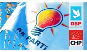 CHP ve DSP'den seçim kazanan iki belediye başkanı AKP'ye geçti