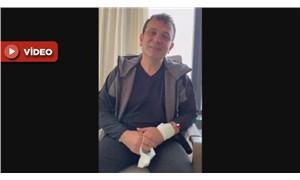 İmamoğlu'ndan hastane odasında Cumhuriyet Bayramı mesajı