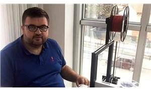 Sağlıkçılara siperlik dağıtan Ergenay, Covid-19 nedeniyle hayatını kaybetti