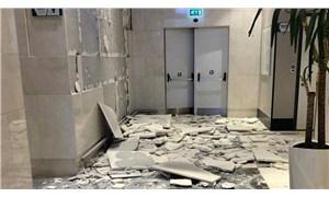 İşçiler hasarlı AVM'lerde çalıştırılıyor