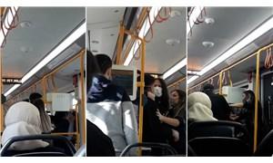 Metroda sarılan sevgililere 'kötü örnek oluyorsunuz' diyerek saldırdı