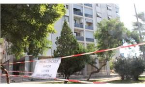 Karşıyaka'da hasarlı binalar korkutuyor