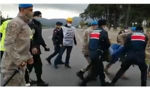 Somalı madencilere jandarma müdahalesi: Örgütlenme uzmanlarına gözaltı!