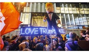 ABD karıştı: Seçim sonuçlarını bekleyen halk sokağa indi