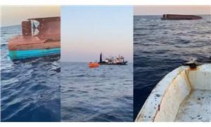 Karataş'ta tankerle çarpışan tekne alabora oldu: 5 kişi hayatını kaybetti