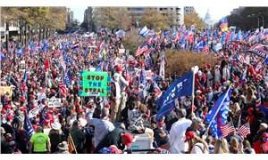 ABD'nin başkentinde yüz binlerce taraftarından Trump'a destek gösterisi