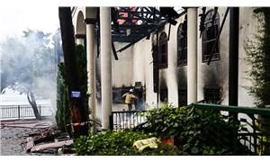 Vaniköy Camisi'ndeki yangına ilişkin soruşturma başlatıldı