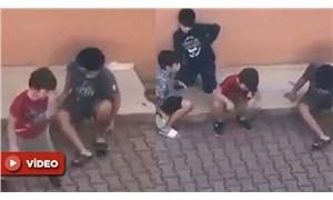 Sokakta ekonomi tartışan çocuklar sosyal medyanın gündeminde