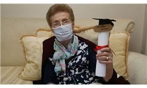 84 yaşında liseden mezun oldu: Okumanın yaşı yok