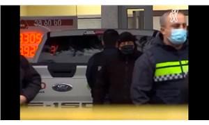 Gürcistan'da silahlı bir erkek, 9 kişiyi rehin aldı