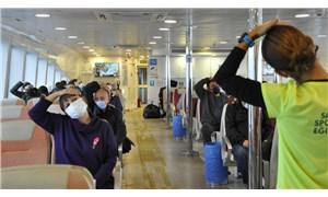 İBB Şehir Hatlarında terlemeden egzersiz projesi hayata geçti