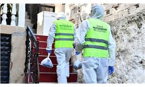 İzmir Büyükşehir'den evinde koronavirüs tedavisi görenlere yemek