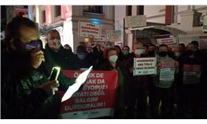 Esnaf sokağa çıktı: Dayanma gücümüz kalmadı, vergiler iptal edilsin