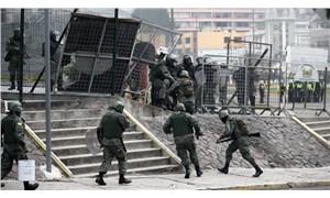 Ekvador İçişleri Bakanı, polisin protestoculara sert müdahalesi nedeniyle görevden alındı