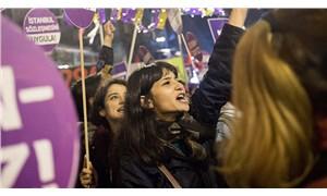 Kadınlar ülkenin dört bir yanında şiddete karşı sokaklarda