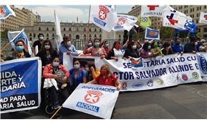 Şili'de sağlık çalışanlarından hükümete 'savaş' ilanı