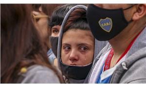 Arjantin halkı Maradona'yı uğurluyor