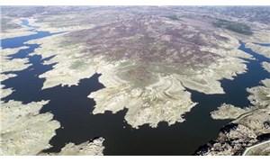 Edirne'ye içme suyunu sağlayan Kayalıköy Barajı kurudu