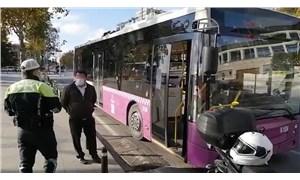 İstanbul'da koronavirüslü otobüs şoförü, sefer sırasında yakalandı