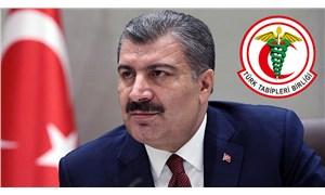 TTB'den Bakan Koca'ya istifa çağrısı